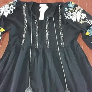 Anthropologie hippie dress